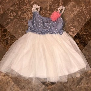 Little Lass tutu baby girl dress size 12 months